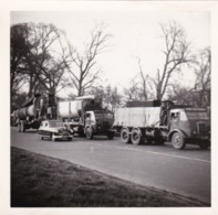 AR18 Photograph - 2 Truck And Car, April 1954 - Cars