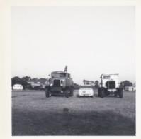 AR18 Photograph - 2 Trucks And A Car In A Field - Cars