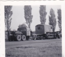 AR18 Photograph - Small Photo, 2 Trucks With Heavy Load - Cars