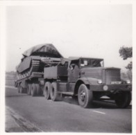 AR18 Photograph - Military Truck With Tank, June 1955 - Cars