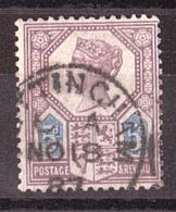 GB - 1887/1900 - N° 99 - Victoria Jubilé - Gebruikt