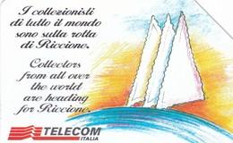 SCHEDA TELEFONICA  RICCIONE 96  SCADENZA 31/12/1998 USATA - Italia