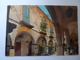 "Cartolina Viaggiata ""CAVA DE' TIRRENI  Corso Italia. Portico"" 1971 - Cava De' Tirreni"