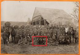 PHOTOGRAPHIE  Format 17 X 12  Cm   -   MAGAZIN  FÜHRPARK-KOLONE 917 -  Colonne De Munitions Légères N° 917 - Guerre 1914-18
