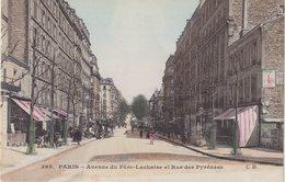 PARIS XX : Avenue Du Père - Lachaise Et Rue Des Pyrénées . - Arrondissement: 20