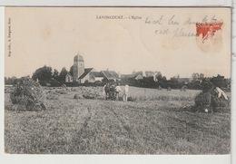 70 - LAVONCOURT - L'Eglise - Champs Et Laboureurs - Frankreich
