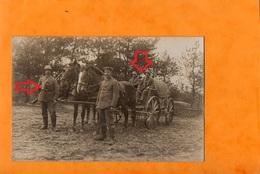 AÜSRUCKEN ZÜM DIENST  -   Attelage Prêt Et équipé  - Colonne De Munitions Légères N°917 - Guerre 1914-18