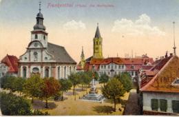 CPA - FRANKENTHAL (PLATZ) AM MARKTPLATZ - Frankenthal