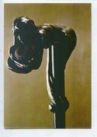 """Rupert Carabin """"poignée De Canne"""" Argent Et Pierre Dure - NU Femme (h : 13 Cm) Expo 1974 Luxembourg) Cp Vierge - Arts"""
