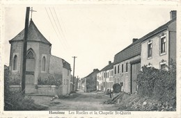 CPA - Belgique - Florennes - Hanzinne - Les Ruelles Et La Chapelle St-Quirin - Florennes