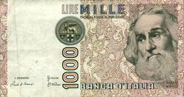 Billet De Banque Italien Italie 1000 Lire CC 682585 F Marco Polo Année 1982 B.Etat - 1000 Lire