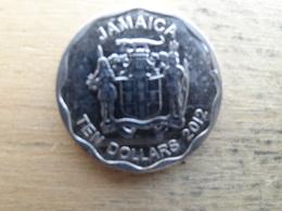 Jamaique  10 Dollars  2012 Km !!! - Jamaique