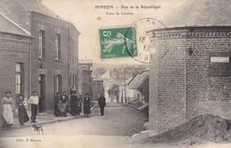 HIRSON - AISNE -  (02)  -  CPA  ANIMÉE 1913 - INÉDITE. - Hirson