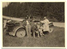 Originalfoto, Unbestimmtes Fahrzeug Wohl Um 1930/40, 8,5x11,5 Cm - Automobile