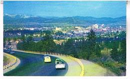 SUNSET  ENTRANCE  TO  SPOKANE  TBE     US402 - Spokane
