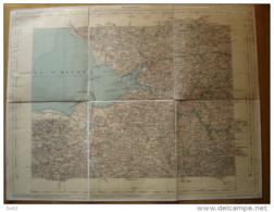 MANCHE CARTE AVRANCHES (NORMANDIE) - Cartes Géographiques