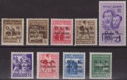 391 * Sesto Calende 1945 – Decreto Del C.L.N. Di Sesto Calende N. 1/9. Cat. € 1200,00. SPL - Emissioni Locali/autonome