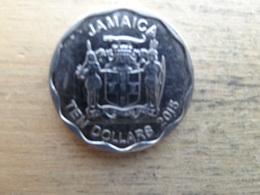 Jamaique  10 Dollars  2015 Km !!! - Jamaique