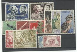 Laos, 1950, Un Lot De Poste & P.A. Neufs** Cote YT 240€80 - Laos