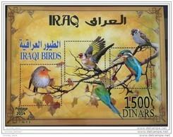 Iraq NEW 2015 Issue - Dated 2014 - Iraqi Emigrating Birds Souvenir Sheet S/S - MNH - Iraq