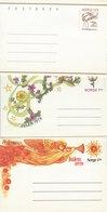 Sweden - Postbrev - 3 Covers.  H-1578 - Postal Stationery