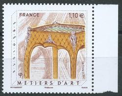 France / 2017 / N° 5197  Métier D'Art Ebéniste - France