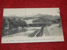ENSIVAL  -  Le Pont Sur La Vesdre, Le Viaduc Et La Station De Lambermont - Verviers