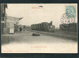 CPA - BERCK PLAGE - Intérieur De La Gare - Trains  (dos Non Divisé) - Berck