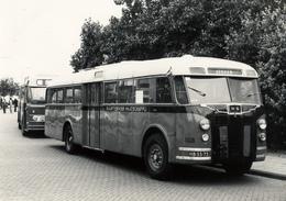 Bus Crossley/ De Schelde, Zandvoort, Louis Davidsstraat 1978, S.V.A. - Auto's