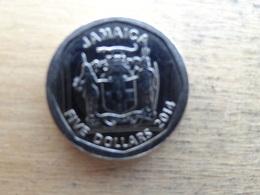 Jamaique  5 Dollars  2014  Km !!! - Jamaique