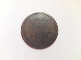 10 Centisimi Münze Aus Italien Von 1867 (schön) Vermutlich OM Mit Punkt - 1861-1946: Königreich