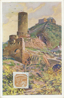 MISTEK 1887-1937 - 50 LET SOKOLA 21 Juin 1937 N°17 - CP Zebrak A Tocnik - Timbres Pour Journaux
