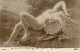 Tableaux -ref B631- Nus-nu -illustrateurs -illustrateur Femmes -arts- Tableau -peinture -peintre A La Lyre -nude  - - Tableaux