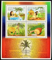 # Niuafo'ou 1991**Mi.200-203 Coconut Tree , MNH [14;145] - Bäume