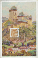 MISTEK 1887-1937 - 50 LET SOKOLA 21 Juin 1937 N°17 - CP Hrad Karluv Tyn - Timbres Pour Journaux