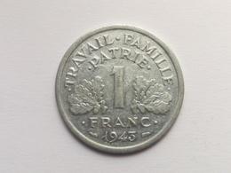 1 Franc Münze Aus Frankreich Von 1943 (vorzüglich) - Frankreich