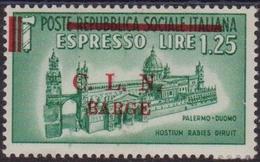389 * Barge 1945 – Espresso N. 18. Cat. € 160,00. MH - Emissioni Locali/autonome