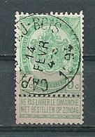 56 Gestempeld CAPPELE-AU-BOIS - 1893-1907 Coat Of Arms