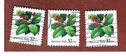 STATI UNITI (U.S.A.) - SG 3372  - 1997  CHRISTMAS: AMERICAN DOLLY (3 DIFFERENT PERFORATIONS)   - USED - Used Stamps