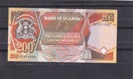 Uganda 200 Shillings 1996 - Uganda
