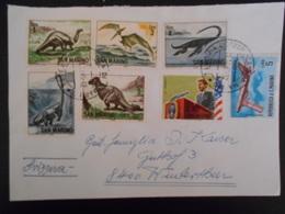 Saint-marin Lettre De 1965 Pour Wintertbur - Lettres & Documents