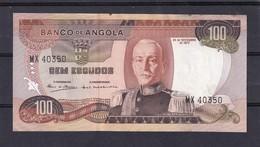 Ang  100 Escudo 1972 - Angola