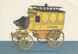 Germany - Straßenpostwagen Um 1900. Postmark Rendsburg :75 Years Nord-Ostsee- Kanal # 06982 - Postal Services