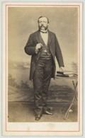 Belgique . CDV 1870-80 G. Antony à Liège . Homme Avec Montre à Gousset . - Photographs