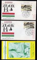 South Korea 2 Fdc.s Philatelic Week And 1 Info Folder Inside. - Corea Del Sur