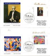 """BRD 2 Schmuck-FDC """"Deutsche Malerei Des 20.Jahrhunderts"""", Mi. 2315/16 ESSt 13.2.2003 BERLIN ZENTRUM - FDC: Covers"""