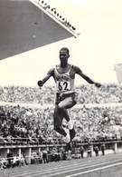 SPORT Photo Véritable ADHEMAR DA SILVA Athlétisme Athlète Brésilien Brasil Triple Saut Champion Olympique 1952 Et 1956 - Sports