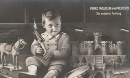 Cartolina - Postcard - Viaggiata -  Sent  -  Bambino Che Gioca - Enfants