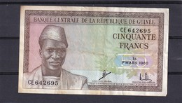 Guinea 50 Fr 1960 VF - Guinee