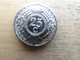 Antilles  Neerlandaises    25  Cents  1998  Km 35 - Netherland Antilles